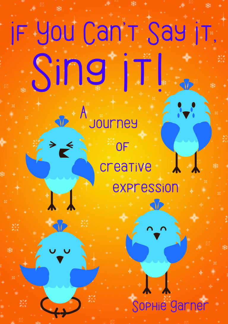 If you can't say it, sing it!